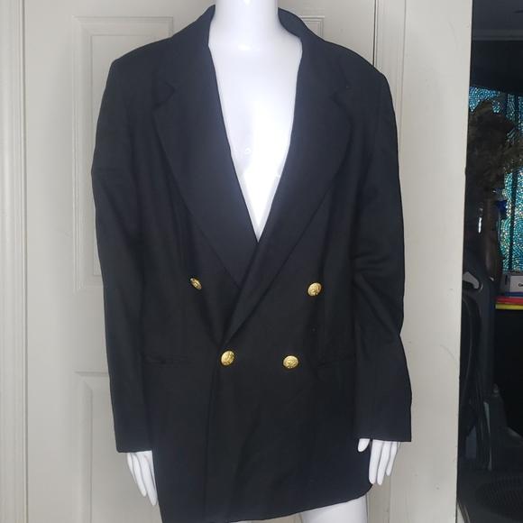 Harve Benard Black Blazer Size 14